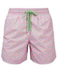 Vilebrequin Indian Ceramic Swim Shorts - Roze