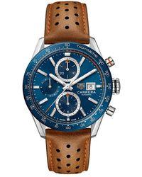 Tag Heuer - Carrera watch - Lyst