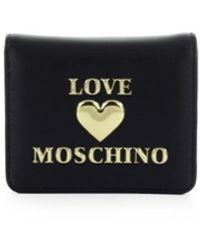 Love Moschino Wallet - Nero