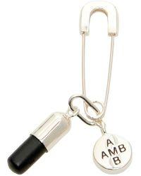 Ambush Earring - Zwart