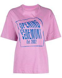 Opening Ceremony T-shirt - Roze