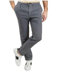 Hartford Tanker Trousers - Blu