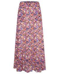 Inwear Hollieiw Long Skirt Nederdele 30106311 - Roze
