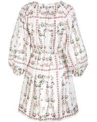 Etro - Dress Blanco - Lyst