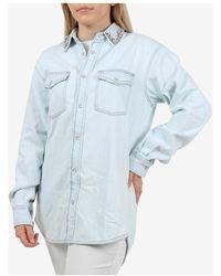 Golden Goose Deluxe Brand Shirt - Blauw