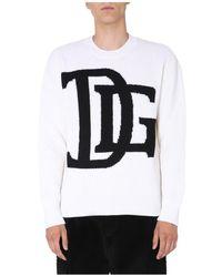 Dolce & Gabbana - Crew Neck Sweater - Lyst