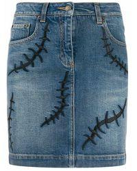 Moschino J010405211295 Skirt - Blauw