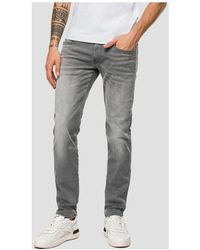 adidas Slim fit Hyperflex jeans Gris