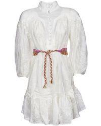 Zimmermann Dress - Wit