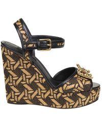 Dolce & Gabbana Wedge - Bruin