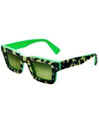 Etnia Barcelona Sunglasses The Kennedy Hvgr - Groen