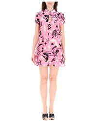 RIXO London Dress - Roze