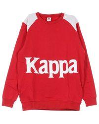 Kappa Rebelle Leather Satchel - Rood