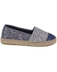 Vidorreta Glitter Espadrilles - Blauw