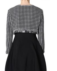 Boutique Moschino Tweed Jacket - Noir