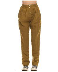 Forte Forte Pants 8212 0080 - Geel