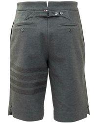 Thom Browne Bermuda Shorts Gris