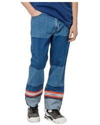 Calvin Klein Patchwork Jeans - Blu