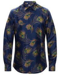 Dolce & Gabbana - Silk Shirt - Lyst