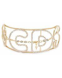 Gcds Brass Necklace - Geel