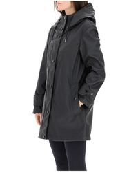 Burberry Parka with hood Negro
