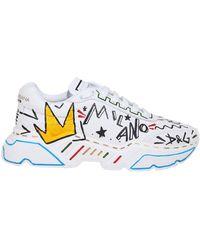 Dolce & Gabbana Sneakers Cs1791 Ao233 Hwtt7 - Wit