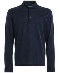 Paolo Fiorillo Capri Polo shirt 6014574200 597 - Blu