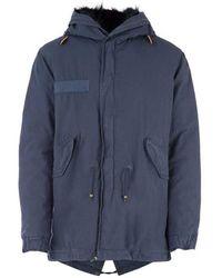 Mr & Mrs Italy Trench Coat - Blauw