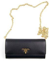 Prada Saffiano Leather Mini-bag - Zwart