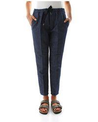 40weft Emma 5256 Pants - Blauw