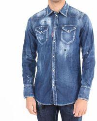 DSquared² Camicia - Blauw