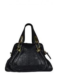 Chloé Paraty Mini Handbag - Zwart