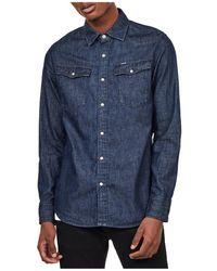 G-Star RAW Shirt - Bleu