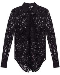 Philipp Plein Lace shirt - Noir