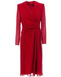 Max Mara Dress 12210904600 - Rood