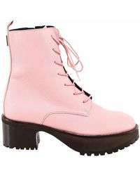 BY FAR Ankle Boots 21pfcbbpogrl - Roze