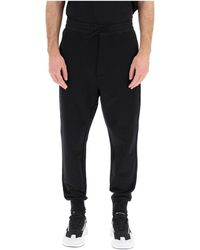 Y-3 Trousers - Zwart