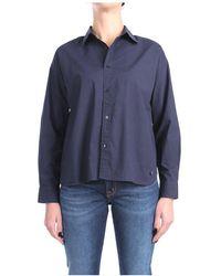 Sun68 S31205 Shirt - Blauw