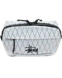 Stussy Waist Pack with Logo - Blanc