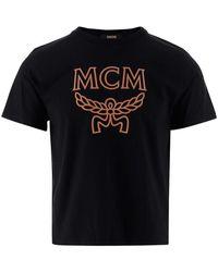 MCM T-shirt - Zwart