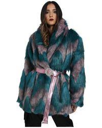 Marc Ellis Winter Coat - Multicolore