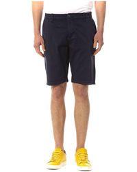 Trussardi Ublunavy Shorts - Blauw