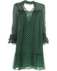 Diane von Furstenberg Dress - Groen