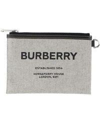 Burberry Pouch - Grijs