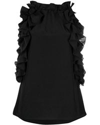 P.A.R.O.S.H. - Abotay Top with Ruffles - Lyst
