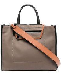Hogan H01h Shopper Bag - Bruin