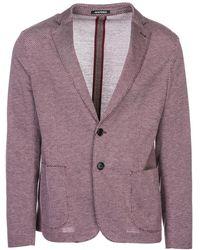 Emporio Armani Men's Jacket Blazer - Paars