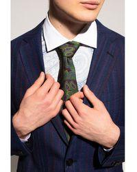 Etro Silk tie Verde