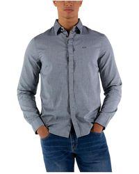 Armani Exchange Camicia Oxford - Grijs