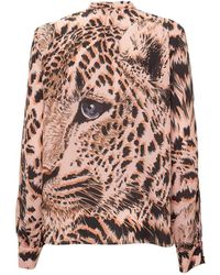 MSGM Top with Print - Rose